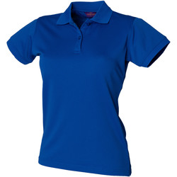 textil Dame Polo-t-shirts m. korte ærmer Henbury Coolplus Royal