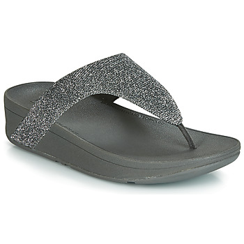 Sko Dame Flip flops FitFlop LOTTIE GLITZY Sølv