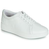 Sko Dame Lave sneakers FitFlop RALLY SNEAKER Hvid