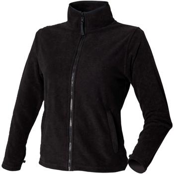 textil Dame Fleecetrøjer Henbury HB851 Black