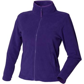 textil Dame Fleecetrøjer Henbury HB851 Purple