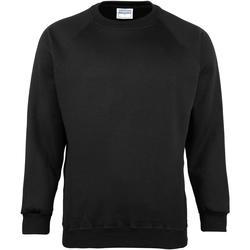 textil Børn Sweatshirts Maddins MD01B Black