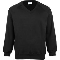 textil Børn Sweatshirts Maddins MD02B Black