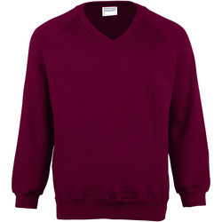 textil Børn Sweatshirts Maddins MD02B Burgundy