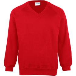textil Børn Sweatshirts Maddins MD02B Red
