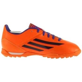 Sko Børn Fodboldstøvler adidas Originals F10 Trx TF J Sort, Orange, Lilla