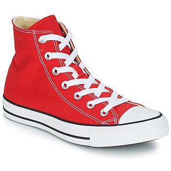 Sko Høje sneakers Converse CHUCK TAYLOR ALL STAR CORE HI Rød