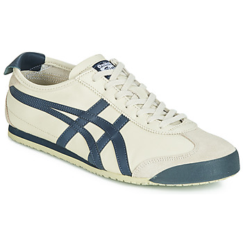 Sko Herre Lave sneakers Onitsuka Tiger MEXICO 66 LEATHER Beige / Blå