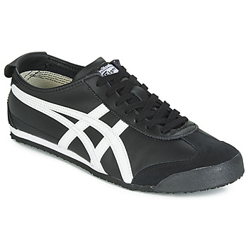 Sko Lave sneakers Onitsuka Tiger MEXICO 66 LEATHER Sort / Hvid