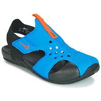 Sko Børn Sandaler Nike SUNRAY PROTECT 2 PS Sort / Blå