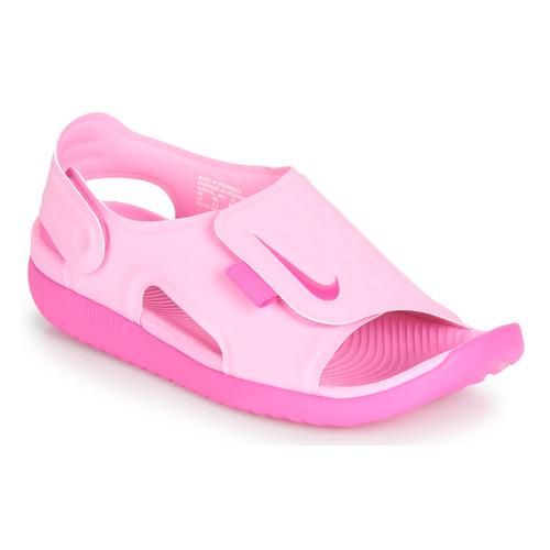 Sko Pige Sandaler Nike SUNRAY ADJUST 5 Pink