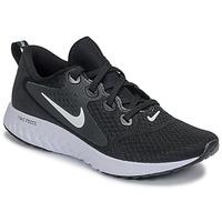 Sko Dame Løbesko Nike REBEL REACT Sort / Hvid