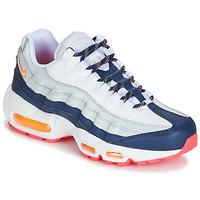 Sko Dame Lave sneakers Nike AIR MAX 95 W Hvid / Blå / Orange