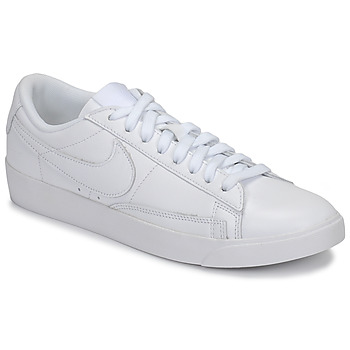 Sko Dame Lave sneakers Nike BLAZER LOW LEATHER W Hvid