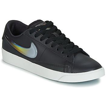 Sko Dame Lave sneakers Nike BLAZER LOW LX W Sort / Sølv